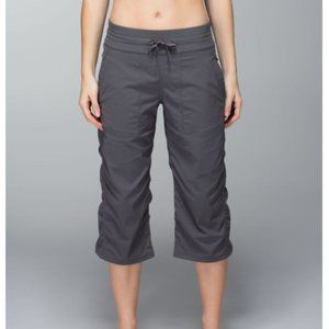 Lululemon Dance Studio Crop Pants Unlined Grey